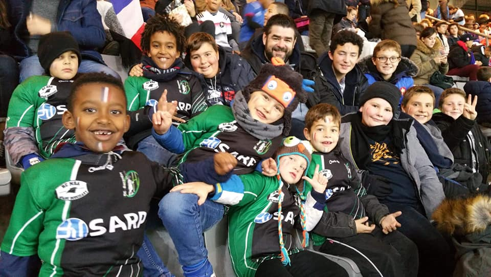 Read more about the article 25/11/2018 – L'EDR au Stade France