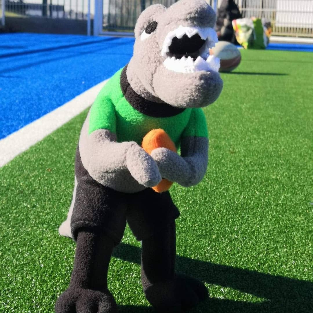 Read more about the article 06/03/2021 – Arrivée de la nouvelle mascotte de l'école de Rugby